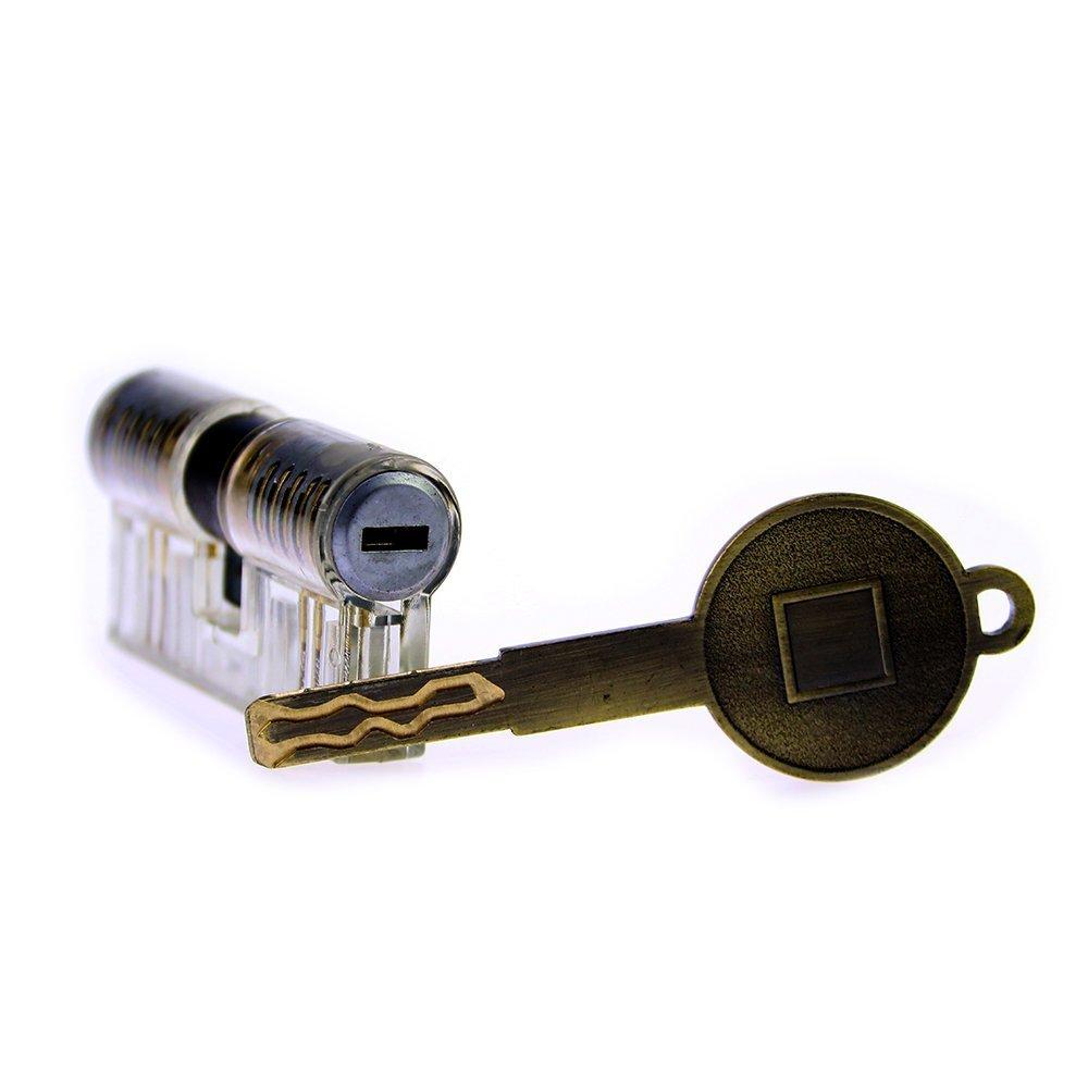 NWBal 14pcs Conjunto de bloqueo transparente completo completo completo Kit de mantenimiento Craftsman Mechanics Tool Kit 219465