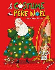 Le costume du Père Noël par Christelle Saquet