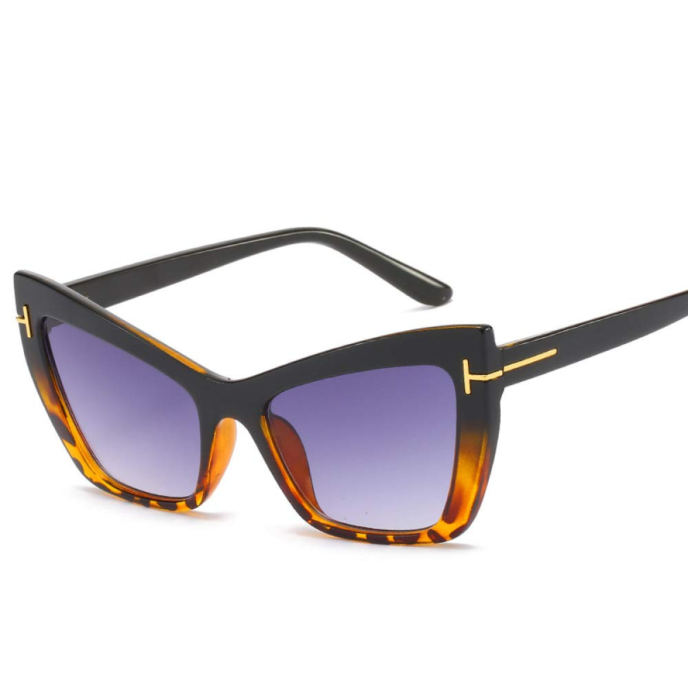 Yangjing-hl Gafas de Sol Estrella Moda Moda protección UV ...