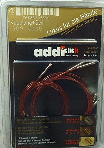 addi Lace Click Cord Set - Multi, 5 cords with connector