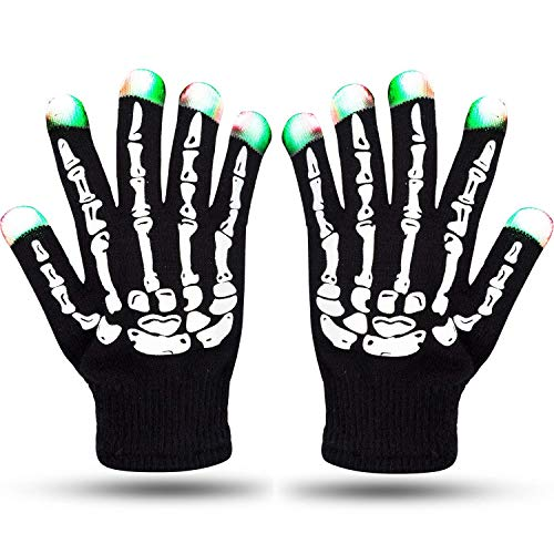 Winter Gloves With Led Light in US - 9