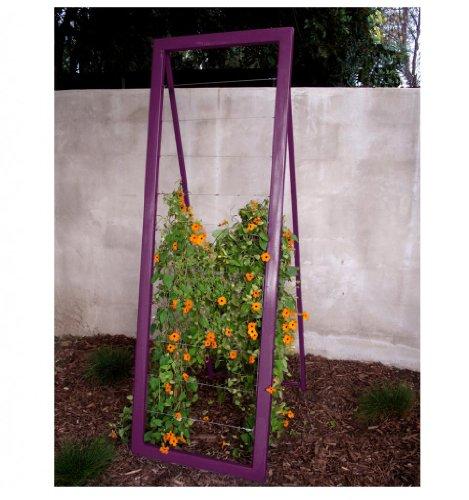 Terra Trellis - Mira Garden Trellis Sr (Aubergine)