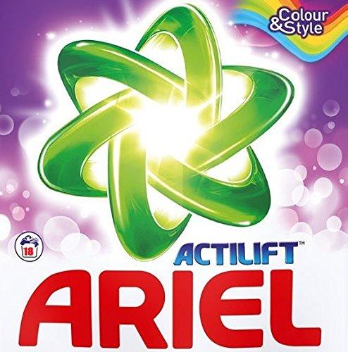 Ariel Detergente regulär Colour y Style polvo 1.44 kg - 18 lavados ...