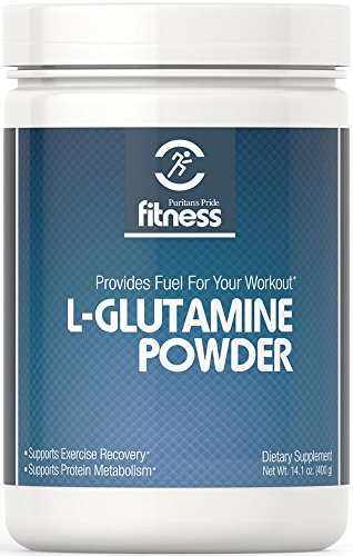 Puritan's Pride Fitness L-Glutamine Powder 4500 mg -400 grams Powder (Glutamine Grams Powder)