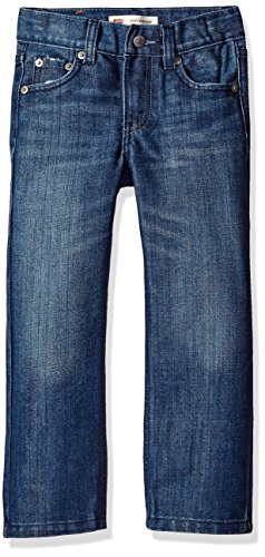 Levi's Big Boys' Straight Fit Jeans, Blue Creek, 16