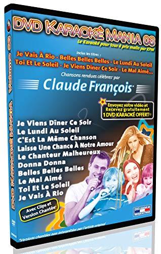 (DVD Karaoké Mania Vol.03 ''Claude François'')