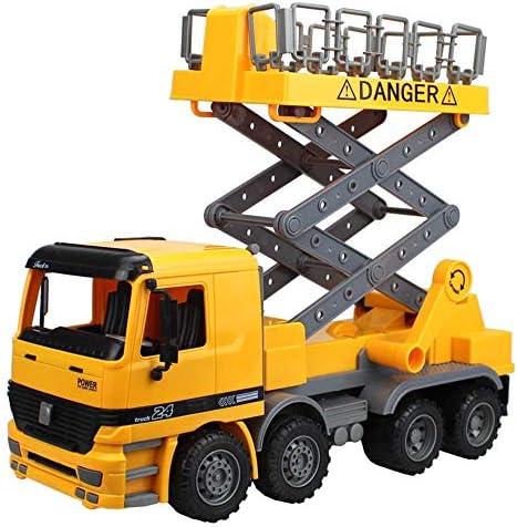 yywl Veicoli da Cantiere Bambini Giocattolo Inertia Sollevamento Crane Modello Camion Giocattolo Ingegneria Veicolo da Veicolo di Riparazione guasto Veicolo di Riparazione guasto