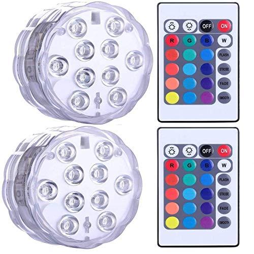 Onderdompelbare LED-verlichting waterdicht, GOESWELL Hot Tub Lights, SPA Lights, Vijver Lights, Onderwater LED…