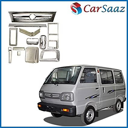 518644f59a376c Carsaaz Chrome Accessories Combo/Pack for Maruti Omni Van (Type-3):  Amazon.in: Car & Motorbike
