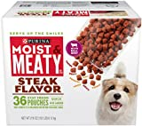 Purina Moist & Meaty Dog Food, Steak Flavor, 216-O...
