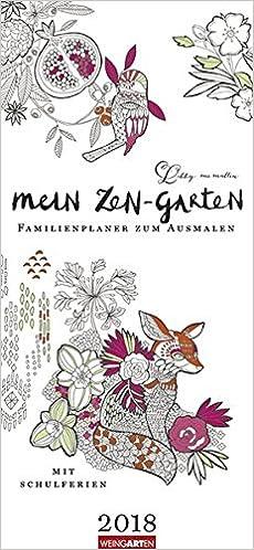 Mein Zen Garten Kalender 2018 9783840070419 Amazoncom Books