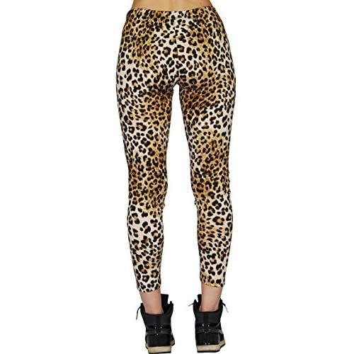 Hey Collection's Leopard Ponte Leggings