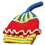 KINDOYO Sombreros de bebé Sombrero de gorrita tejida Winter Newborn Sombrero  3-12 meses ( 5de68b56e3f