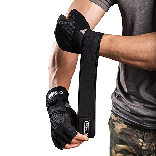 Xcrossfit Weight Lifting Gloves: Pseudois Men's Weight Lifting Gloves For Gym Workout