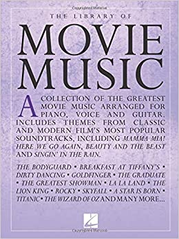 The Library of Movie Music: Hal Leonard Corp : 0888680902148