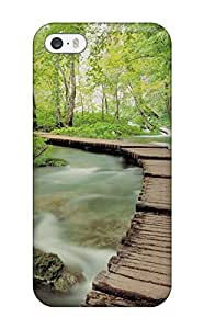 High Quality Shock Absorbing Case For Iphone 5/5s-amazing Scene Nature