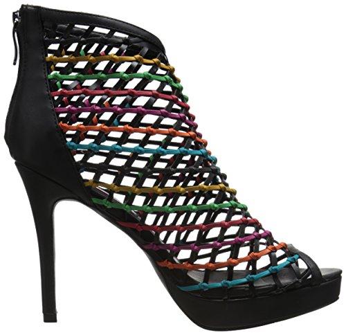 Two Lips Women's Aloha Gladiator Sandal Black/Multi Jf4qYp