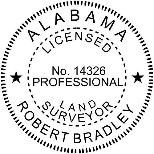 Alabama Stamps - Alabama Land Surveyor Stamp