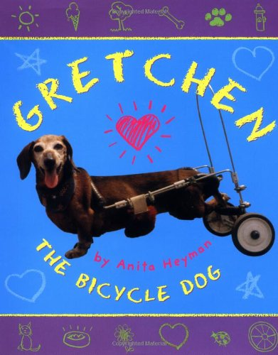 Image result for gretchen the bicycle dog