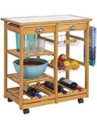 Best Choice Products Wood Kitchen ...
