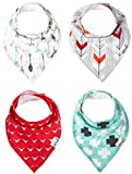 Baby Bandana Bibs for Teething Drooling and Feeding