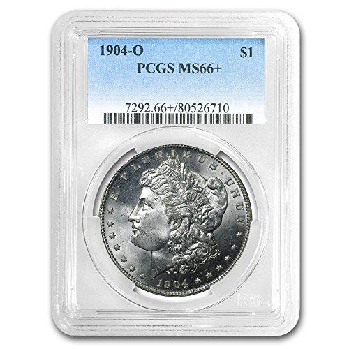 1904 O Morgan Dollar MS-66+ PCGS $1 MS-66 PCGS