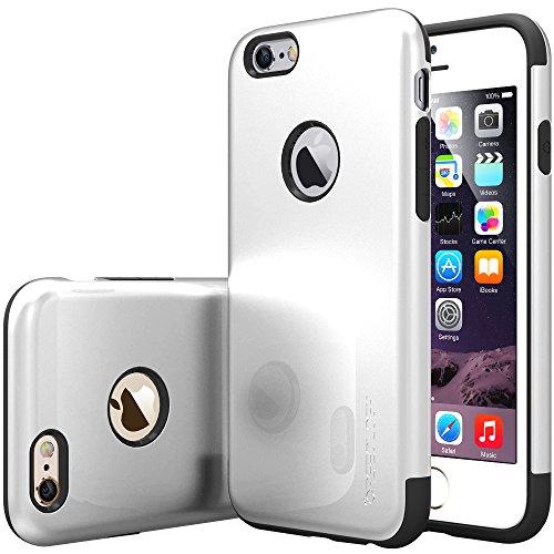 Sleek Tech Armor Case for iPhone 6/6s (Silver) - 5