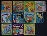 Berenstain Bears: Set of 11 First Time Picture Books (The Prize Pumpkin ~ Say Good Night ~ Too Much Teasing ~ Get the Gimmies ~ Moving Day ~ In the Dark ~ Missing Honey ~ Trouble With Money ~ Think of Those in Need ~ Too Much TV ~ The Biggest Dinosaurs)