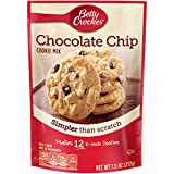 Betty Crocker Cookie Mix Chocolate Chip Snack Size, 7.5 Ounce