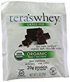 Tera's Whey Organic Fair Trade Whey Protein, Dark Chocolate, 1 Ounce