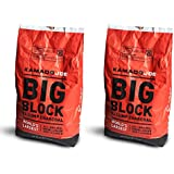 KamadoJoe All-Natural Big Block XL Lump Charcoal, 20 Lb (2 Pack)