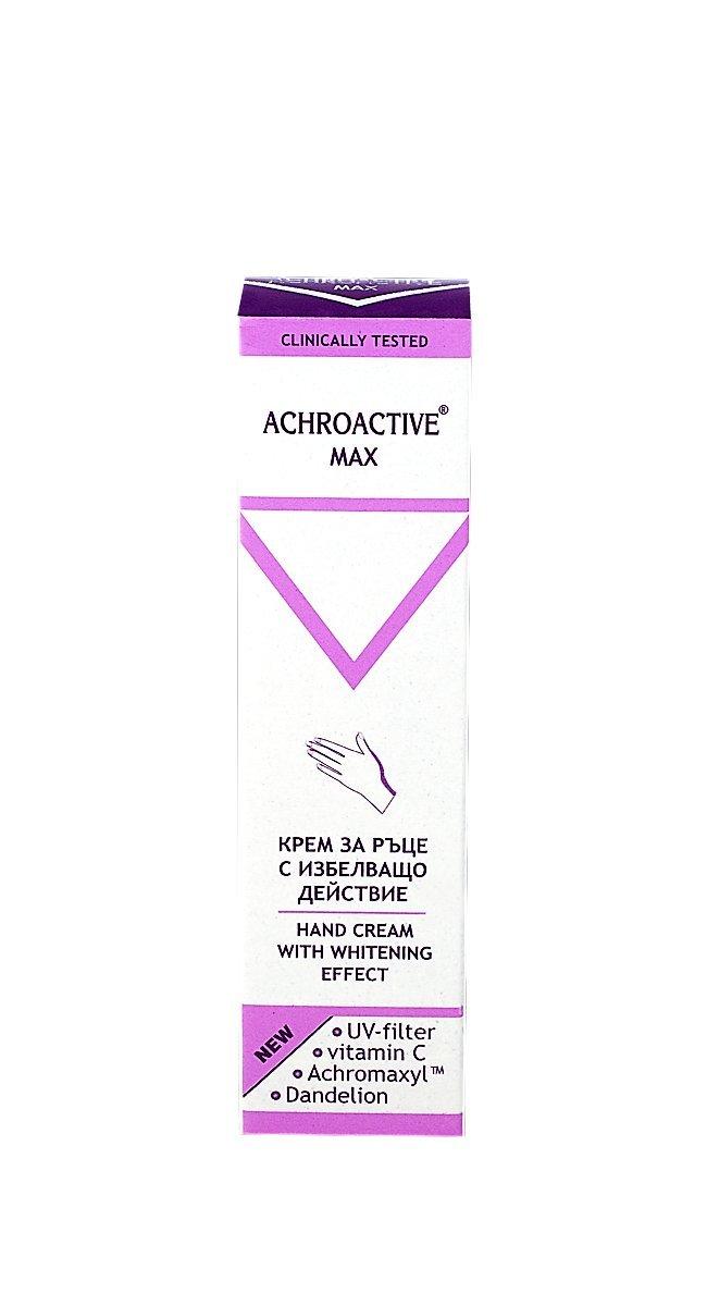 Achroactive Max Bleaching Hand Cream Active Whitening Vitamin C Dandelion UV
