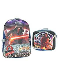 """Star Wars 16"""" Backpack With Detachable Lunch Box"""