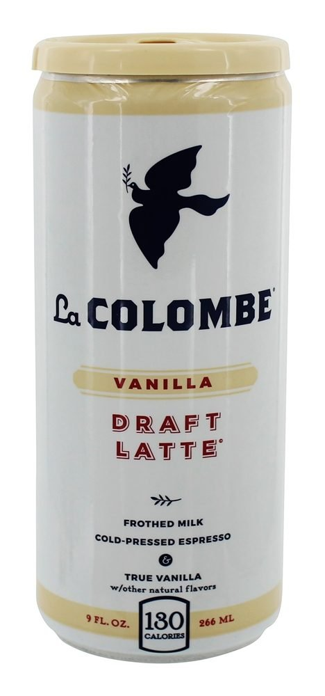 La Colombe Coffee Roasters Draft Latte Vanilla (Pack of 8)