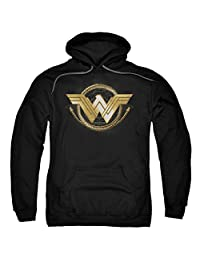Wonder Woman Lasso Logo Adult Pull-Over Hoodie