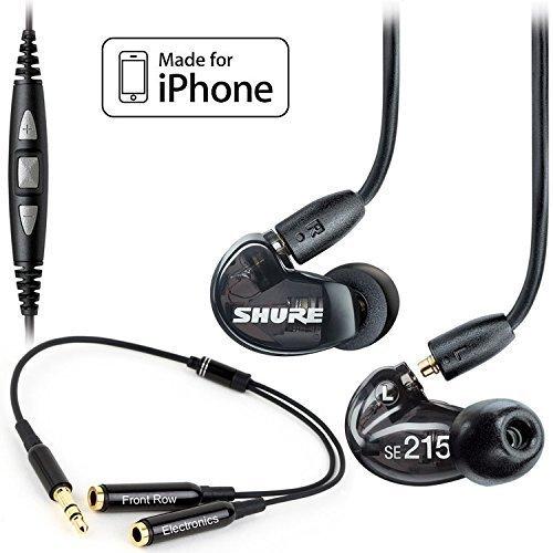 Shure SE215 K Earphones CBL M Stereo