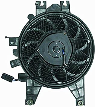 AC A//C Condenser Cooling Fan Assembly 884530C010 for 01-07 Toyota Sequoia Van