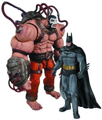 DC Collectibles Batman Bane vs Batman Action Figure 2-Pack Arkham Asylum
