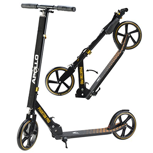 Apollo Big Wheel Scooter 200 mm - Phantom Pro Gold is a Luxury City...