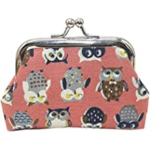 Women's Coin Purse,Owl Money Bag Change Card Holders Small Wallet Clutch Purseby-NEWONESUN
