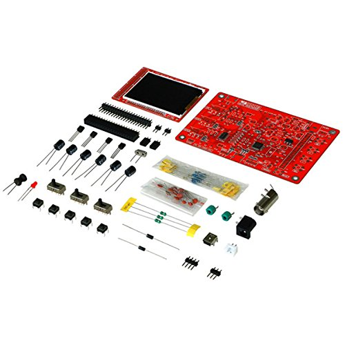 Quickbuying New DC 9V 1Msps Digital Oscilloscope Kit SMD Soldered Version Electronic DIY Learning Kit assembly parts