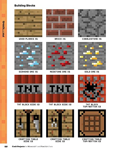 Craft Projects For Minecraft And Pixel Art Fans 15 Fun Import