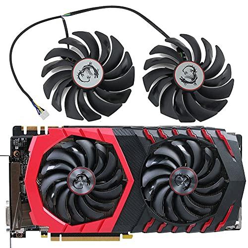 GPU cooler PLD10010S12HH 12V 0.40A 4PIN MSI RX470 480 1070