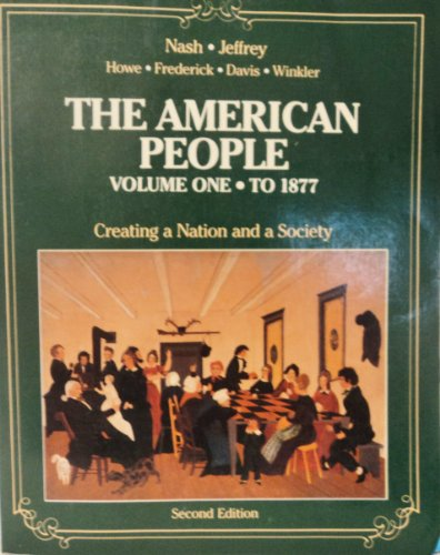 American People: Vol 1. To 1877