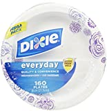 Dixie 8 1/2 Plates-Meadow Breeze-160 ct by Dixie