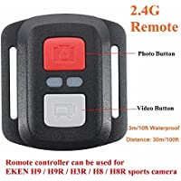 Buildent(TM) Remote Control 2.4G Shutter For EKEN H9/H9R/H3R/H8/H8R Sport Action Camera remote control