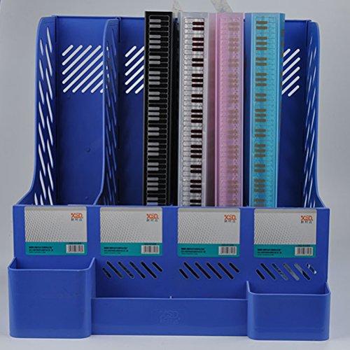 Music Sheet File Paper Documents Storage Folder 40 Pockets Holder (White) by VORCOOL (Image #2)