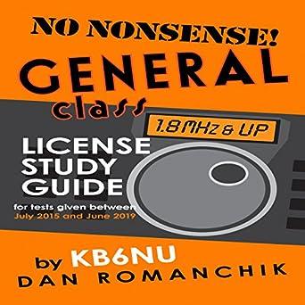 No-nonsense general class license study guide 2015-2019 main.