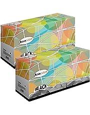 Acceprint TN2320 TN-2320 TN 2320 Förpackning av 2 Tonerkassett Svart för Brother HL L2300D HL L2340DW HL L2360DN HL L2365DW DCP L2500D DCP L2520DW DCP L2540DN MFC L2700DW MFC L2720DW MFC L2740DW