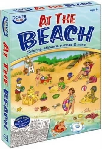 At the Beach Fun Kit (Dover Fun Kits) (English and English Edition) (Kits Dover Fun)